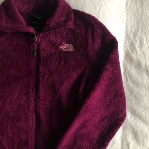 North Face Berry zip up jacket